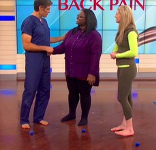 ME:T with Dr Oz: Heal Your Back Pain segment